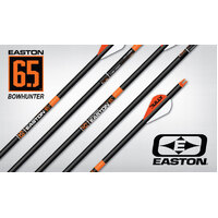Easton 6.5mm Bowhunter Fletched Arrows p/k 6