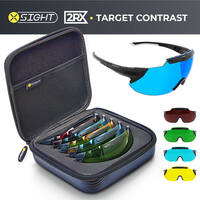 X-Sight 2RX Shooting Glasses (Target Contrast set with 5 lenses)